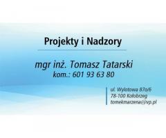 Projekty i Nadzory mgr inż. Tomasz Tatarski