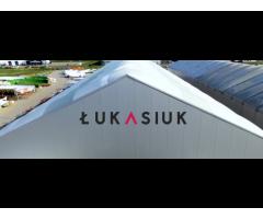 Grupa Łukasiuk: projektowanie i wykonawstwo hal namiotowych